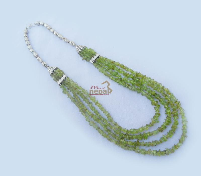 Green Stone Neck Lace
