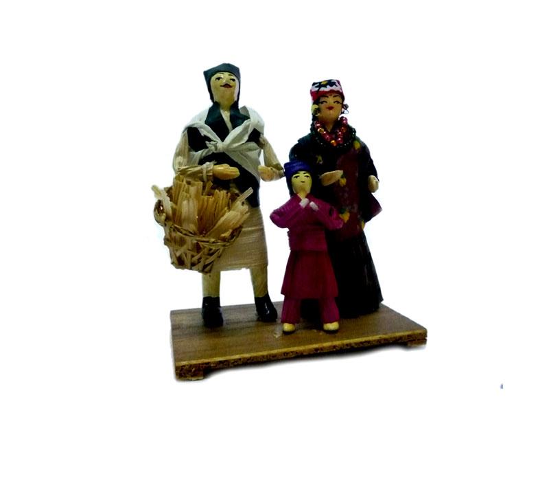 ethnic gurung family