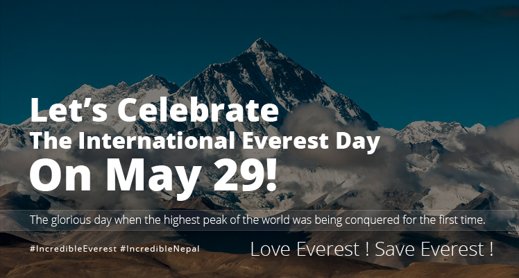 Everest day banner